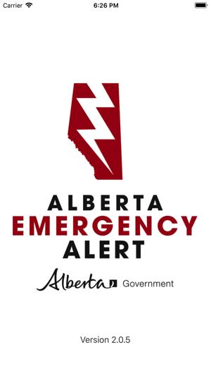 Alberta Emergency Alert On The App Store
