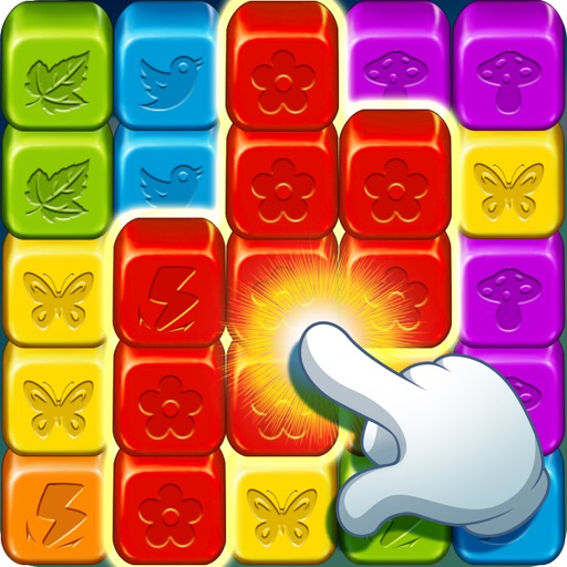 Toy Collapse: Match Cube Blast