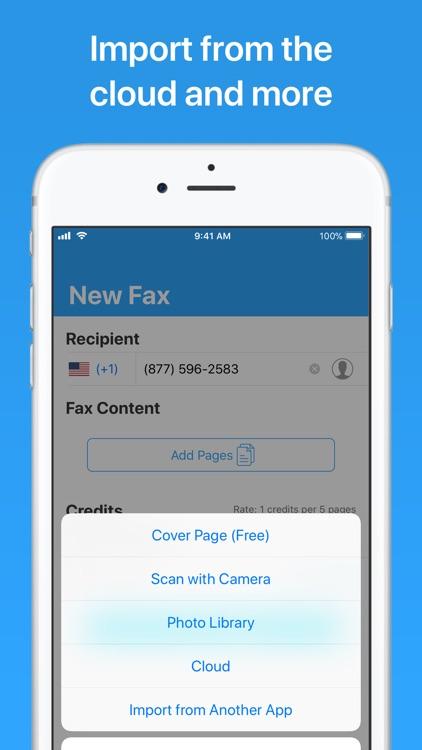JotNot Fax screenshot-6