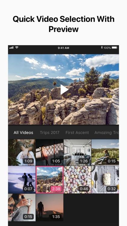 Crop Video - Cut & Trim Videos screenshot-0