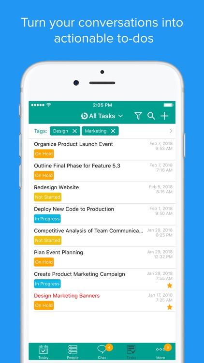 BizChat: Team Communication screenshot-4