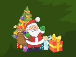 Santa Claus Stickers: HoHoHo