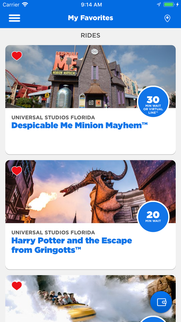 Universal Orlando® Screenshot