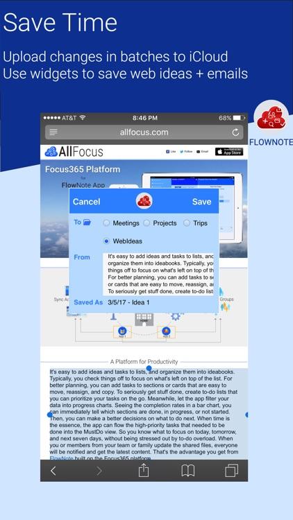 FlowNote - Get Ideas Flowing screenshot-4