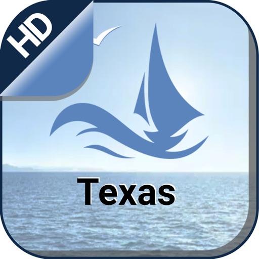 Texas boating gps nautical offline sailing charts
