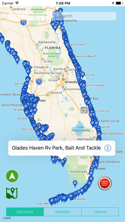 Florida: Salt Water Boat Ramps