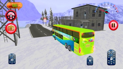 Hill Bus Driver 3d 2017 Mania screenshot 5