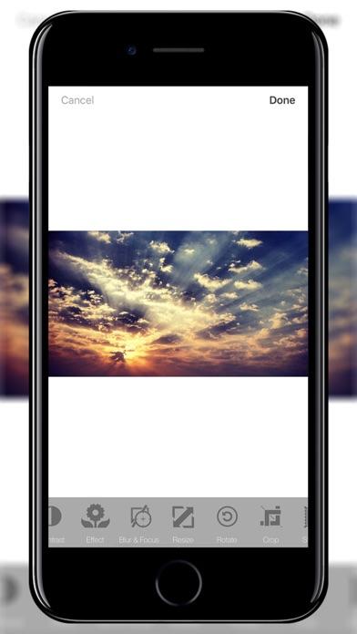 Resizer - Photo & Image Editor screenshot one