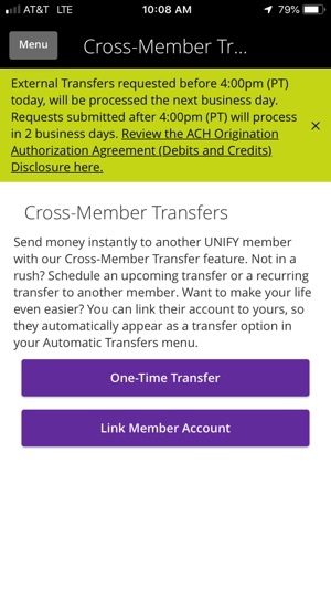 Unify Financial Credit Union on the App Store