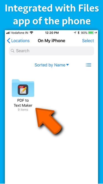 PDF to Text Maker screenshot-5