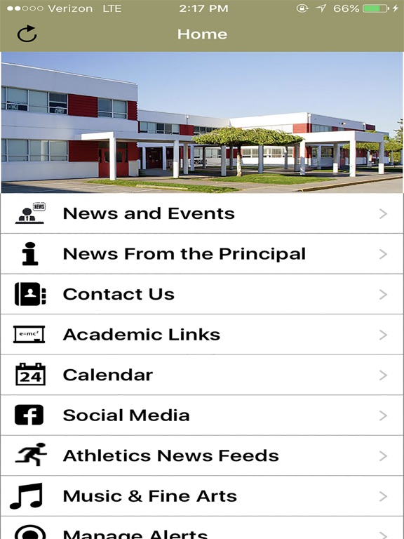Holy Cross Regional HS screenshot 4