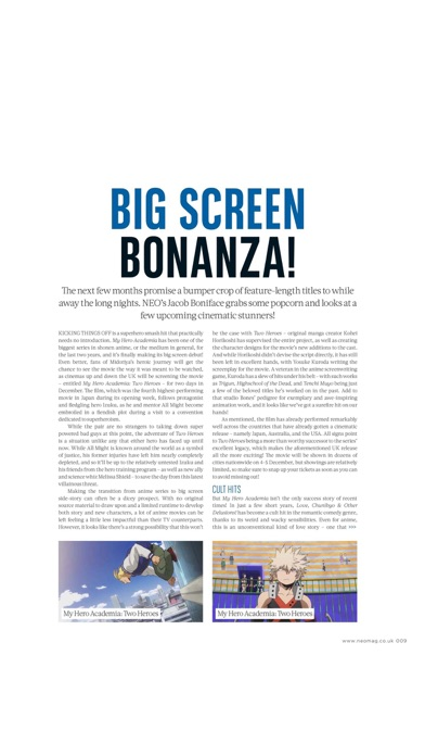 Neo Magazine review screenshots