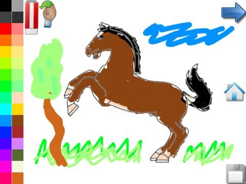 Kleurplaten Van Paarden Spelletjes.Kleurplaten Van Paarden Pony App Voor Iphone Ipad En Ipod Touch