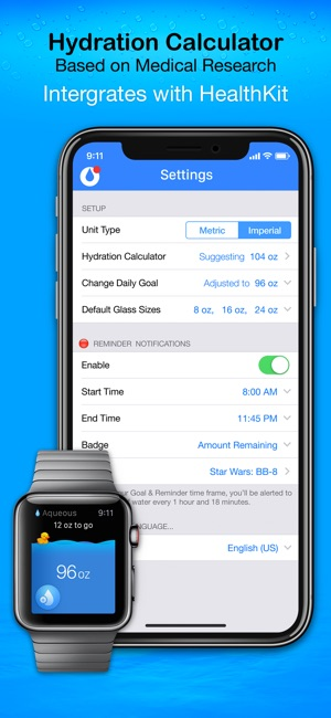 Aqueous - Stay Hydrated on the App Store