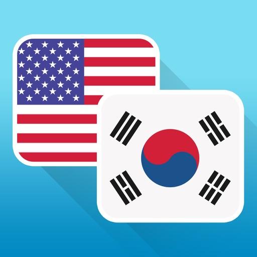 English to Korean (Hangul) Icon