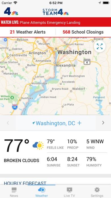 Nbc4 Washington review screenshots