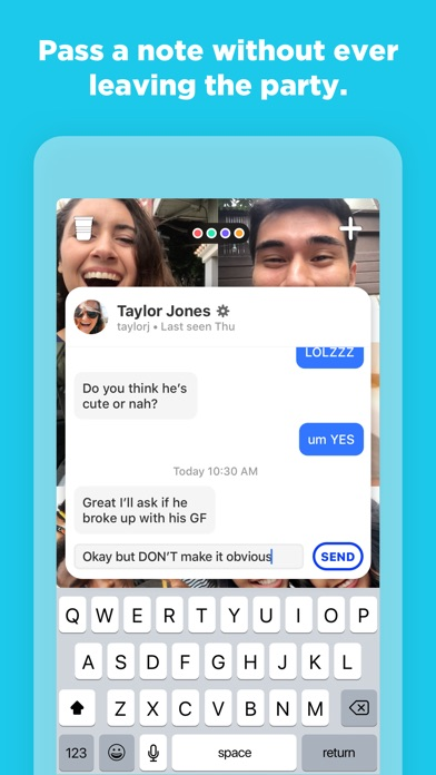 Screenshot for Houseparty in United States App Store