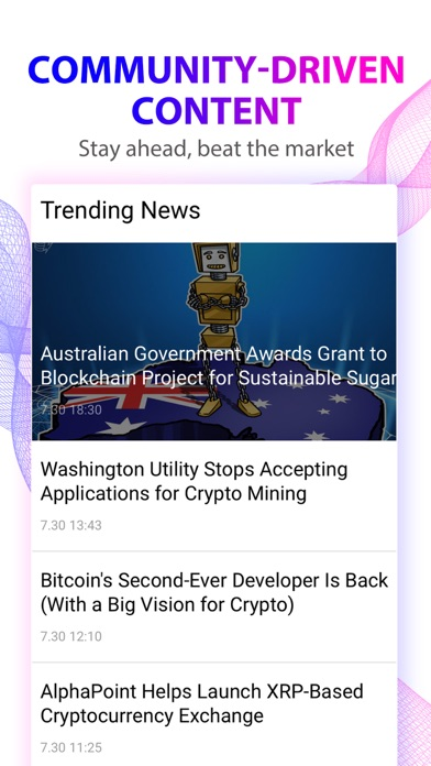 Quarry: Crypto News & Trends screenshot three