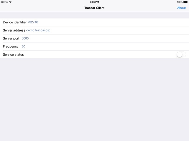 Traccar Client on the App Store