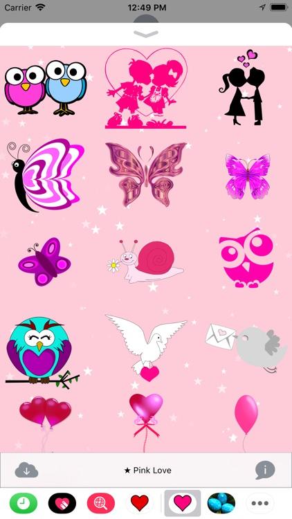 Pink Love • Stickers screenshot-4