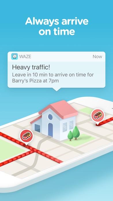 Waze social GPS traffic & gas Screenshot 3