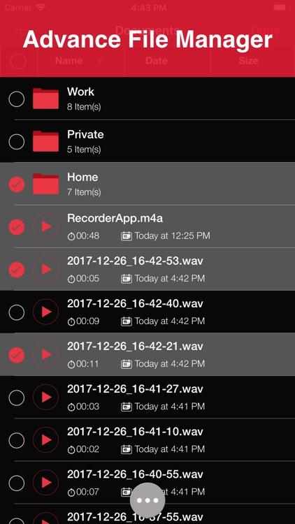 Recorder App Pro screenshot-3