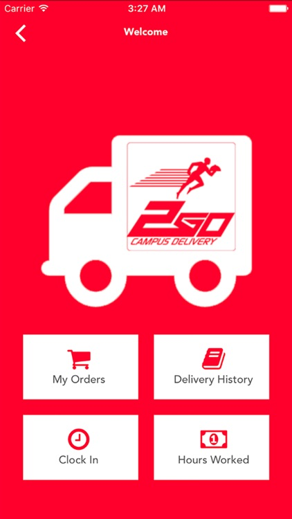 2Go Campus Delivery Driver