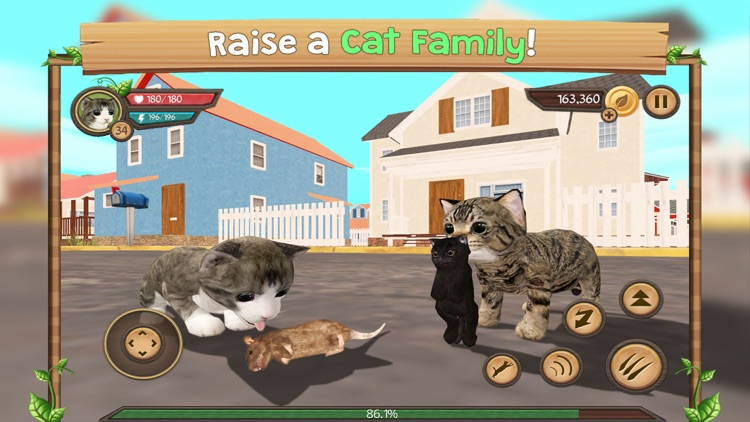 Cat Sim Online: Play With Cats screenshot-0