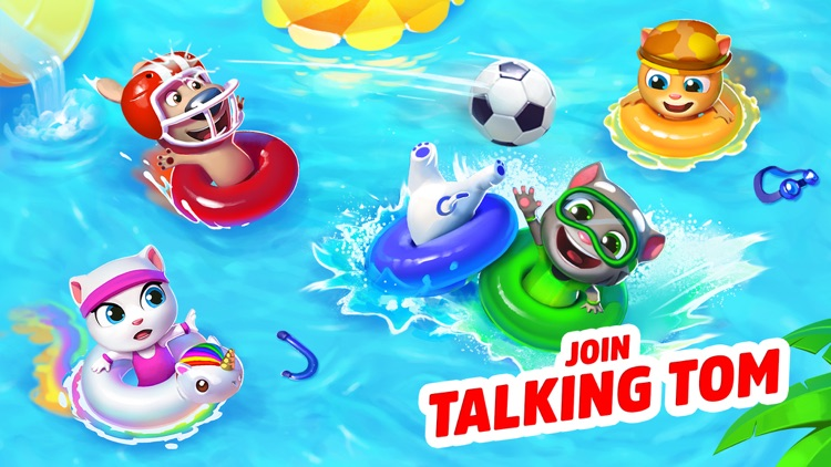 Talking Tom Pool - Puzzle Game screenshot-0