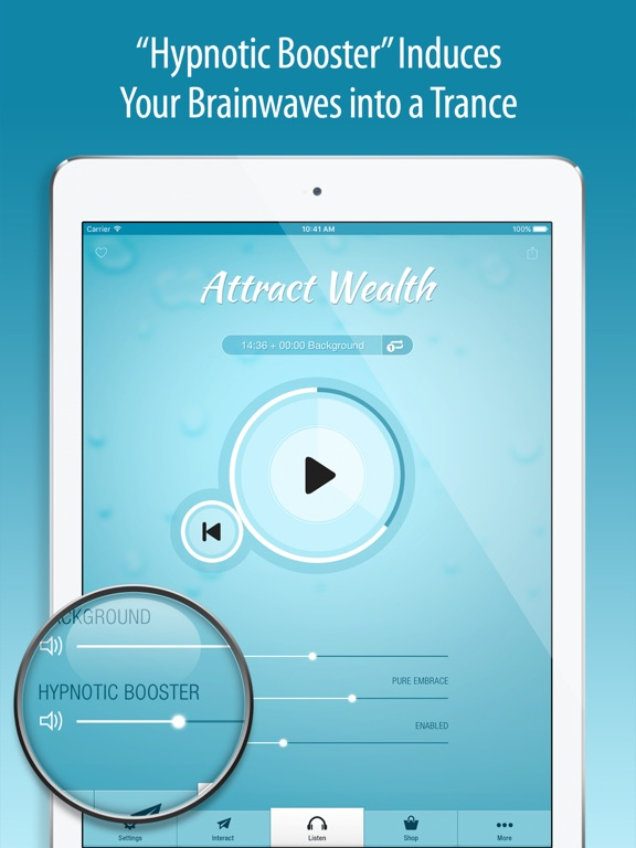Screenshot #6 pour Attract Wealth Hypnosis