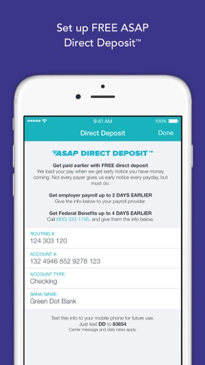screenshots - Prepaid Cards With Mobile Deposit