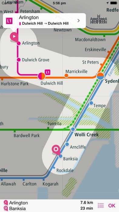 シドニー路線図 Liteのおすすめ画像3
