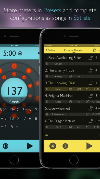 Screenshot for Tempo Advance - Metronome in Taiwan App Store