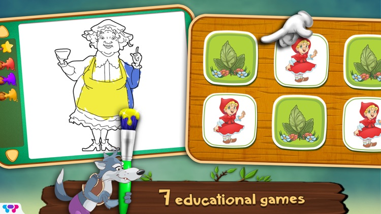 Little Red Riding Hood Toybook screenshot-3