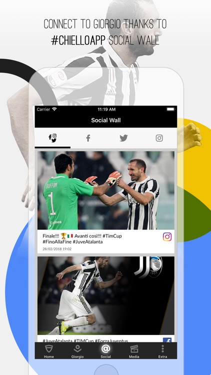 Giorgio Chiellini Official App screenshot-2