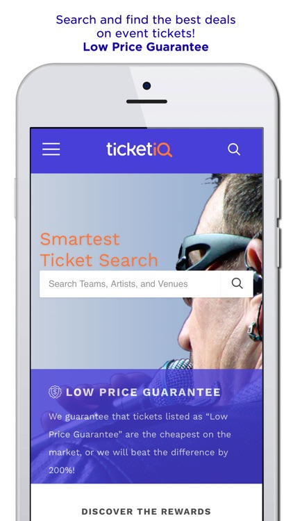 TicketIQ | Low Price Guarantee