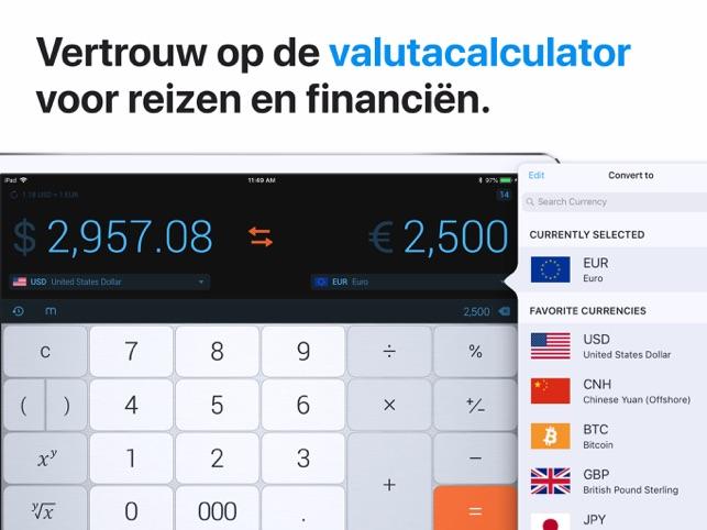 De Rekenmachine In De App Store