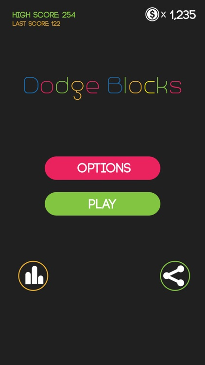 Dodge Blocks- Avoid the Blocks