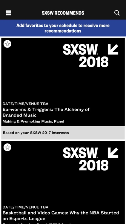 SXSW® GO - Official 2018 Guide screenshot-3
