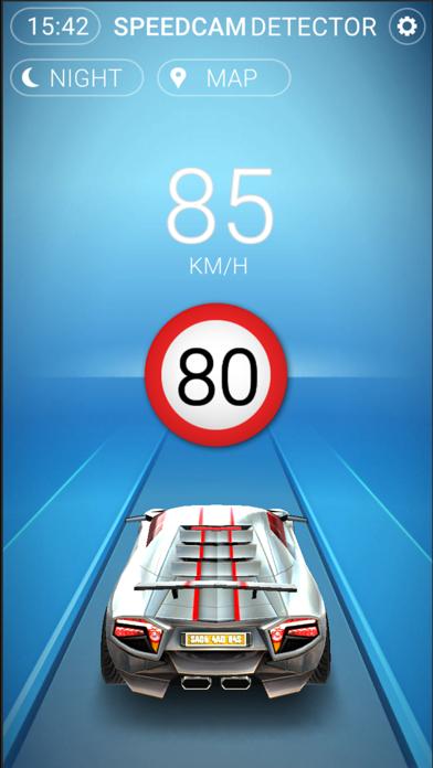 Screenshot of Speedcams Grecia4