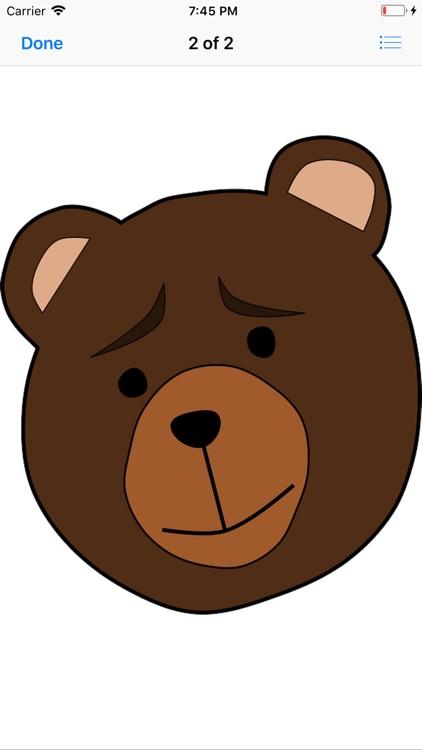 Bear Stickers screenshot-3