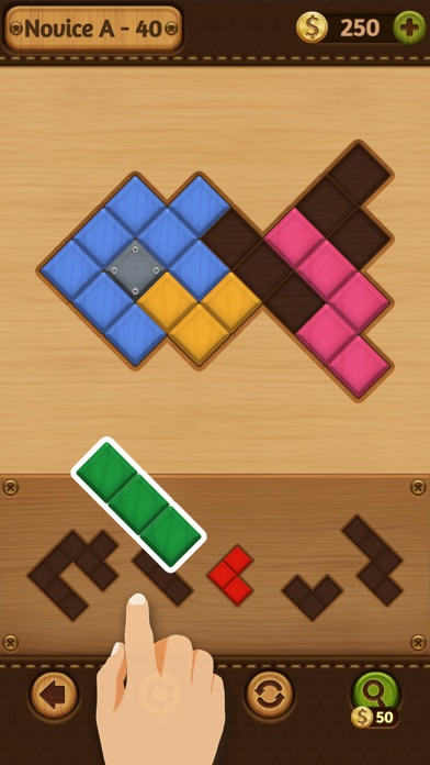 Block Puzzle: Wood Collection screenshot 4