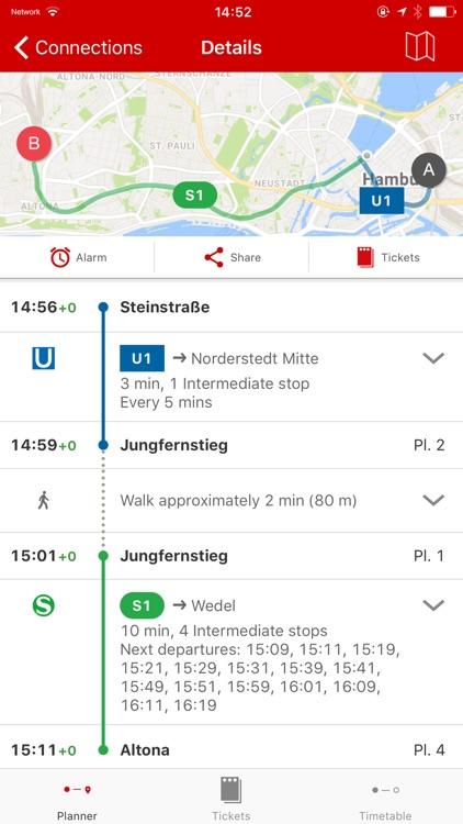 HVV - Navigation for Hamburg screenshot-4