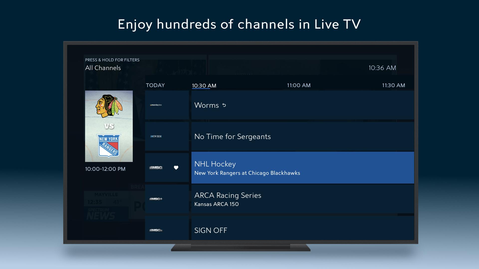 Spectrum TV screenshot 13
