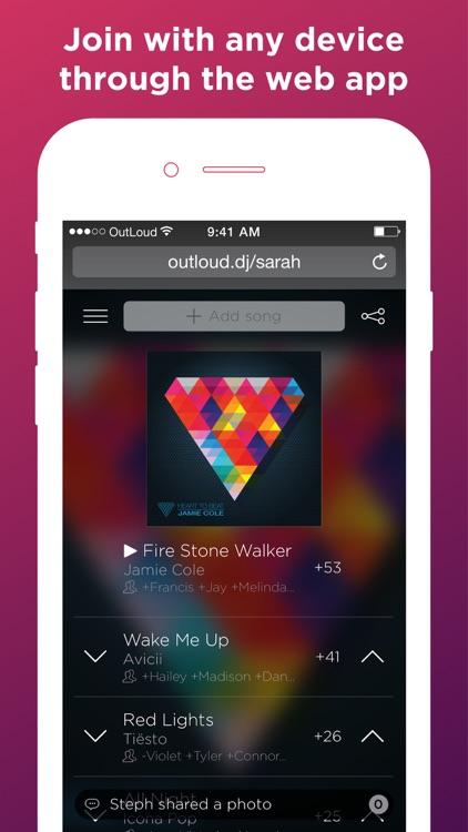OutLoud Social Jukebox screenshot-4