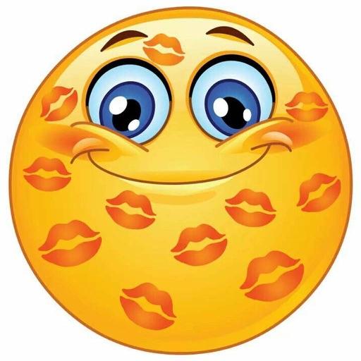 Naughty emoji art