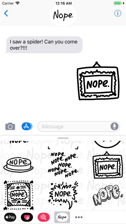 N-o-p-e. screenshot-4