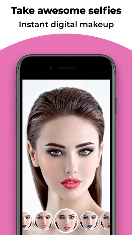 Voir Makeup Camera screenshot-0