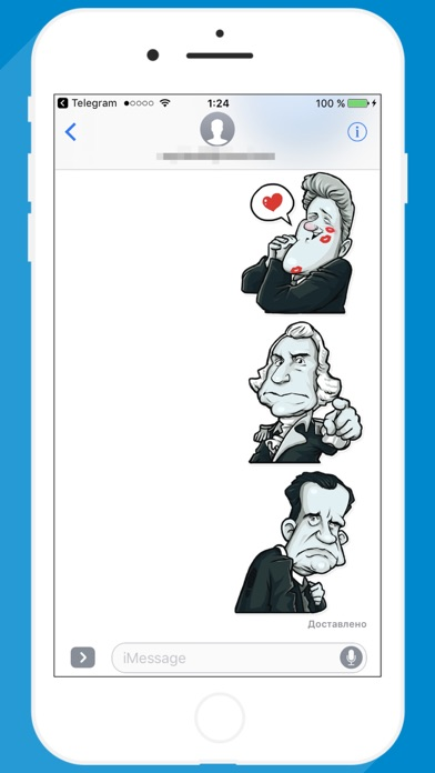 USA Presidents STiK Stickers screenshot 3