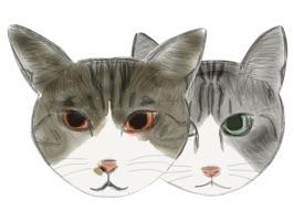 Cat Bros. Sticker Lite